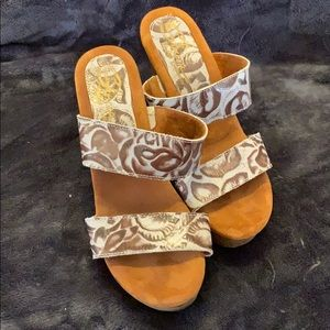 Ladies Wedge Sandals